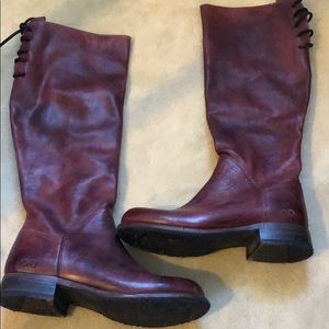 NWOB Bed Stu Manchester Boot-Rustic Scarlet 8.5